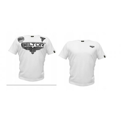 T-shirt Octagon kolor biały Beltor rozm.XL WALKI!