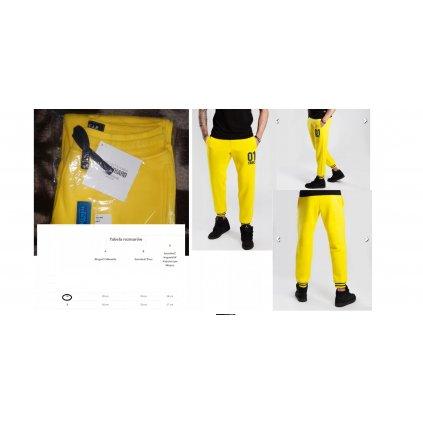 PANTS 036 - LEMON spodnie dresowe Trec rozm M