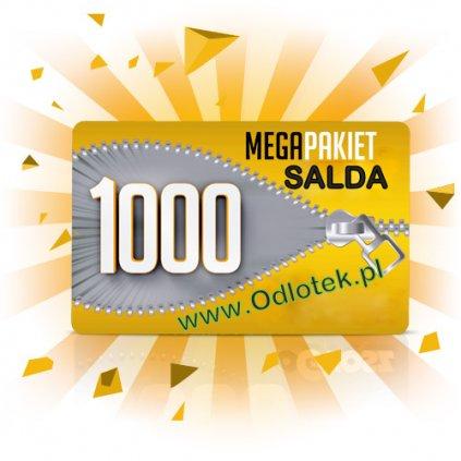 Pakiet 1000 wirtualnych złotówek do twojego salda